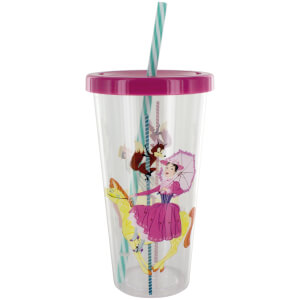 Mary Poppins Cup and Straw