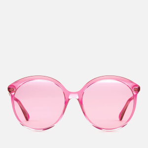 240d915437 Gucci Women s Polarised Round Frame Sunglasses - Fuchsia