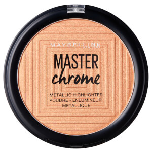 Maybelline Master Chrome Metal Highlighting Powder 100 Molten Gold 8 g