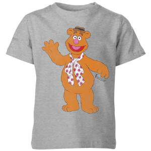 Disney Muppets Fozzie Beer Kinder T-shirt - Grijs