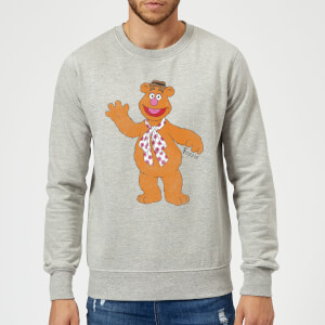 Disney Muppets Fozzie Bear Classic Sweatshirt - Grey