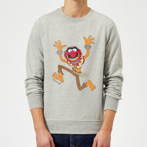 Sweat Homme Muppets Animal Disney - Gris