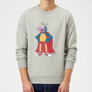 Sweat Homme Muppets Gonzo Disney - Gris