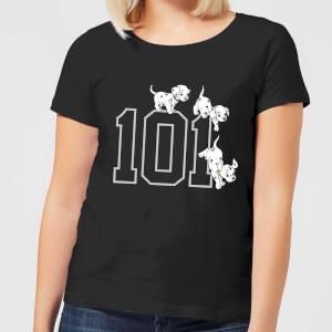 Camiseta Disney 101 Dálmatas 101 - Mujer - Negro