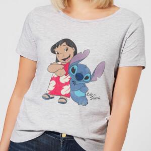 T-Shirt Femme Lilo et Stitch Disney - Gris