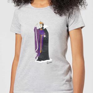 T-Shirt Femme Maléfique La Belle au Bois Dormant Disney - Gris