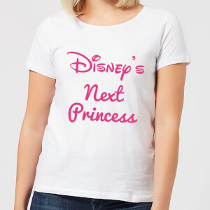 Disney Princess Next Women's T-Shirt - White