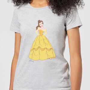 Disney Princess Belle Classic Women's T-Shirt - Grey