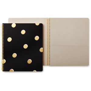 Kate Spade Large Spiral Notebook - Scatter Dot