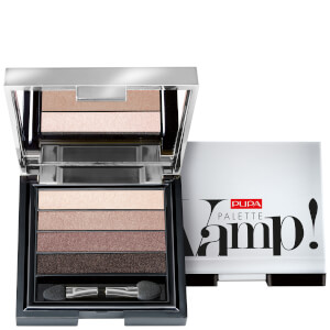 PUPA Vamp 4-Eyeshadow Palette - Smoky Brown 4 g