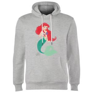 Sweat à Capuche Homme Ariel La Petite Sirène Disney - Gris