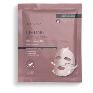 BeautyPro Lifting 3D Clay Mask liftingująca maska w płacie