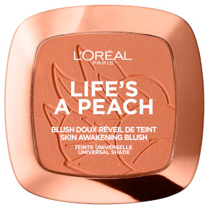Polvos de colorete Blush Powder de L'Oréal Paris - Life's a Peach 9 g
