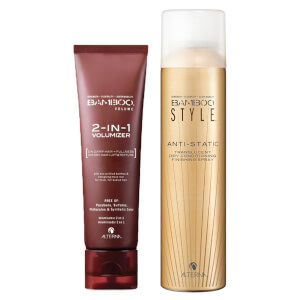 Alterna Bamboo Style Dry Finishing Spray and 2-in-1 Volumizer Duo