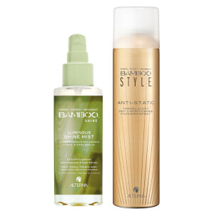Alterna Bamboo Style Dry Finishing Spray and Luminous Shine Mist Duo