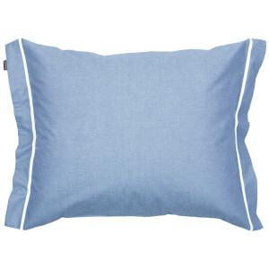 GANT Home New Oxford Pillowcase - Capri Blue - 50 x 75cm