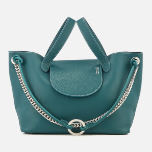 meli melo Women's Linked Thela Medium Tote Bag - Marble Green