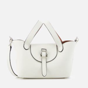 meli melo Women's Thela Mini Tote Bag - White/Tan