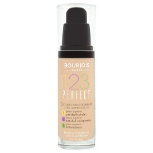 Bourjois 123 Perfect Foundation 30ml (Various Shades)