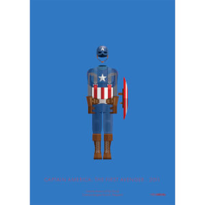 Affiche Captain America - Marvel
