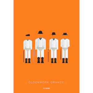 Clockwork Orange Print