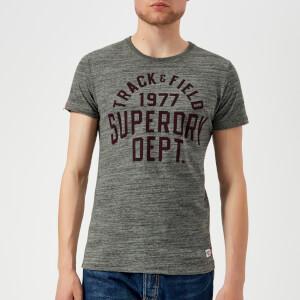 Superdry Men's Trackster Short Sleeve T-Shirt - Urban Space Dye Grit