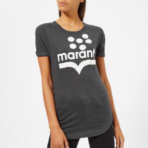 Isabel Marant Étoile Women's Koldia T-Shirt - Faded Black/Ecru
