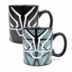 Black Panther Tasse mit Thermo-Effekt