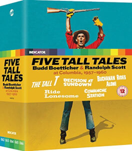 Five Tall Tales: Budd Boetticher & Randolph Scott At Columbia, 1957-1960