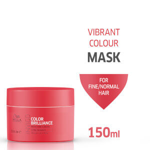 Wella Professionals Invigo Color Brilliance Vibrant Color Mask for Fine Hair 150ml
