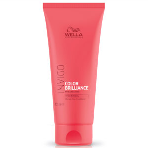 Acondicionador para cabello fino Color Brilliance INVIGO de Wella Professionals 200 ml