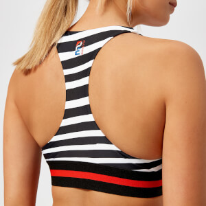 P.E Nation Women's The Fanatic Crop Bra - Print
