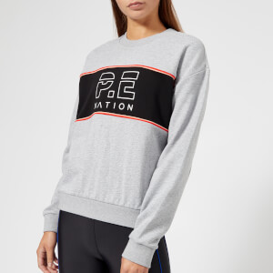 P.E Nation Women's The Invictus Sweatshirt - Grey Marl