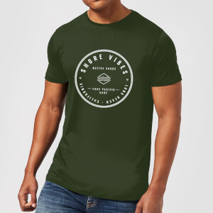 Native Shore Men's Shore Vibes T-Shirt - Forest Green