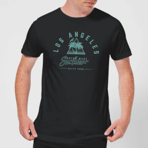 Native Shore Men's Los Angeles Surfwear T-Shirt - Black