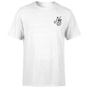 Native Shore Men's Essential Script T-Shirt - White