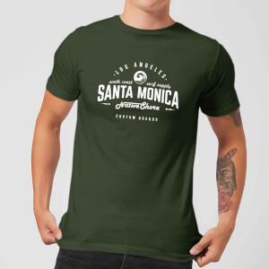 Native Shore Men's Santa Monica T-Shirt - Forest Green