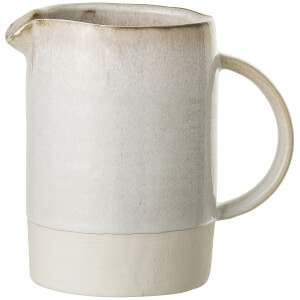 Bloomingville Carrie Stoneware Jug - Nature