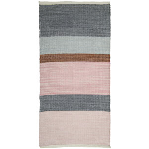 Bloomingville Polyester Stripe Rug - Multi-Colour