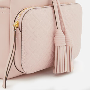 Tory Burch Women's Fleming Backpack - Shell Pink: Image 4