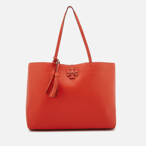 Tory Burch Women's McGraw Tote Bag - Poppy Red