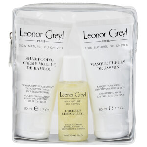 Leonor Greyl Luxury Travel Bag for Dry Hair (25ml x 50ml x 50ml)