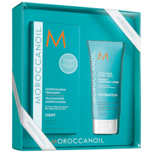 Moroccanoil Treatment - Light 125ml with Light Hydrating Mask 75ml