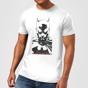 Batman Solid Stare T-Shirt - Weiß
