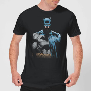 DC Comics Batman Close Up T-Shirt - Black