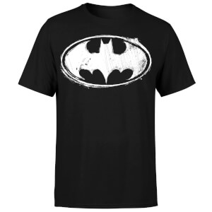DC Comics Batman Sketch Logo T-Shirt - Black