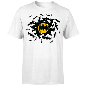 DC Comics Batman Bat Swirl T-Shirt - White