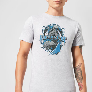 DC Comics Batman Dark Knight Shield T-shirt - Grijs