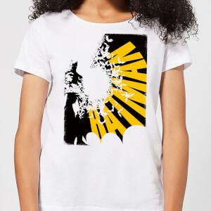 T-Shirt Femme Batman DC Comics - Bat Spread - Blanc