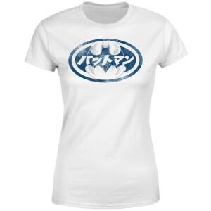 DC Comics Batman Japanese Logo Women's T-Shirt - White